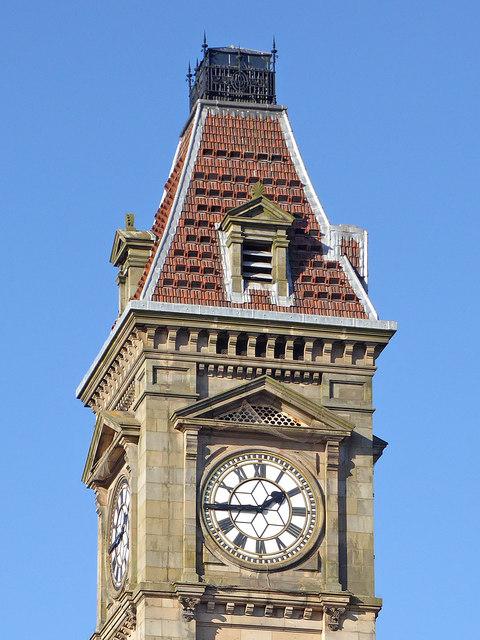 The clock on Big Brum
