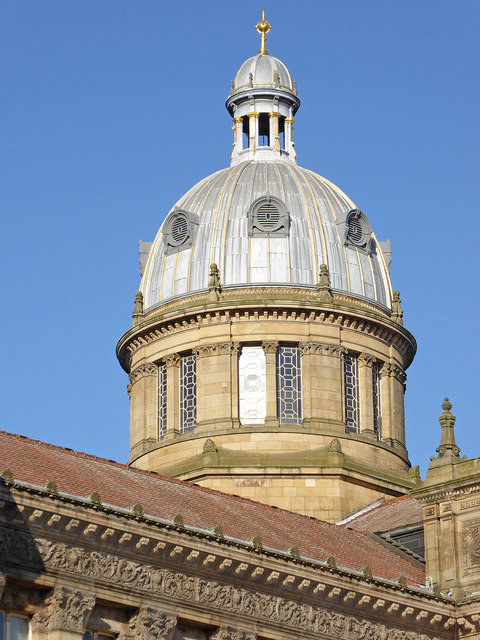 Dome on Birmingham Council House, Victoria Square