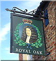 SE4843 : Sign for the Royal Oak, Tadcaster by JThomas