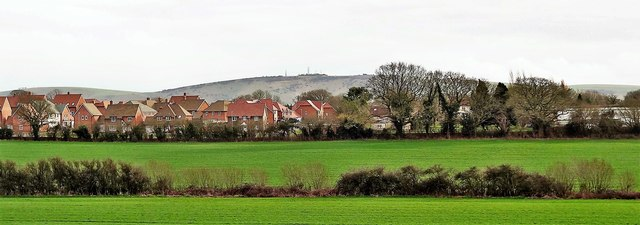 Henfield, Sussex - new houses north of West End Lane