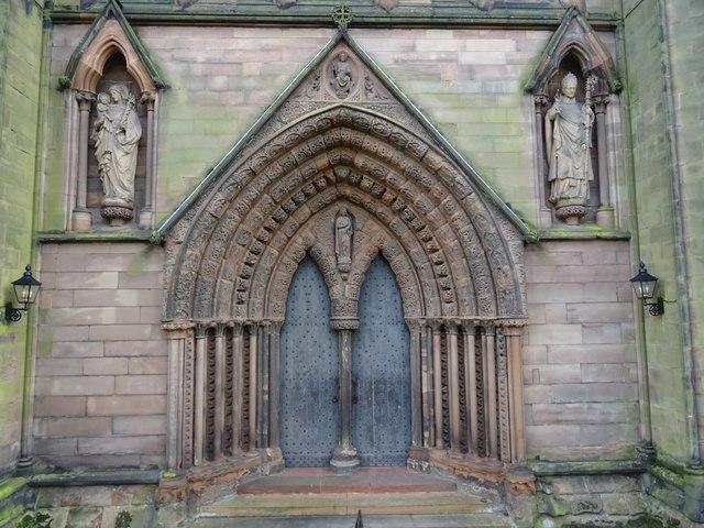 North door, Lichfield Cathedral