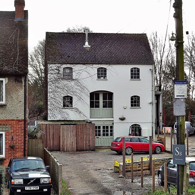 Henfield, Sussex - the Old Steam Mill