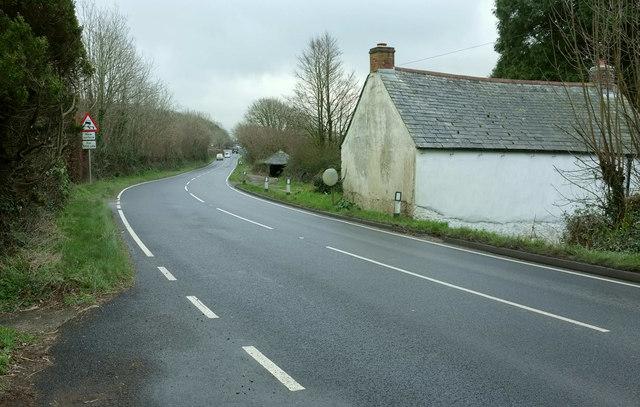 A389 at Lane End