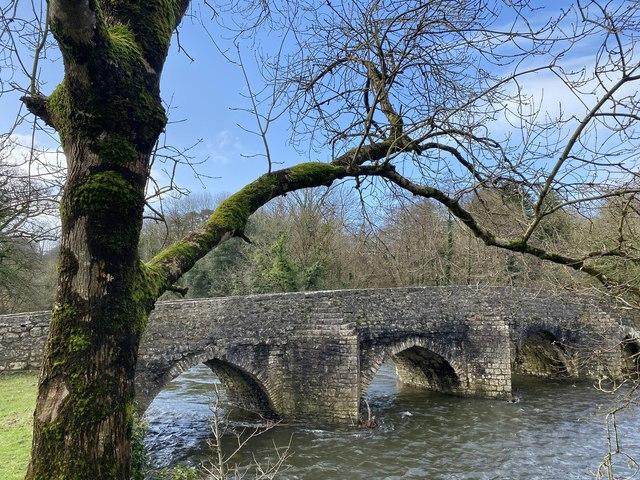 Dipping bridge, Merthyr Mawr