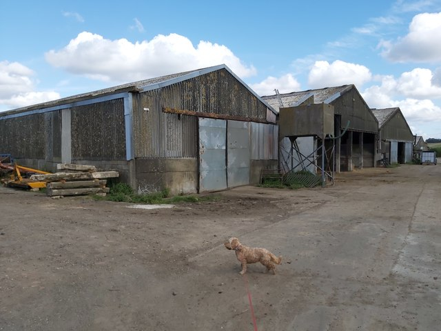 Little Bayall Farm Buildings by John P Reeves