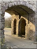 SM7525 : Gateway in old city wall, St David's  by Alan Hughes