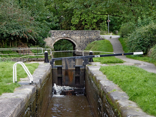 Stockton Brook Top Lock, Stoke-on-Trent