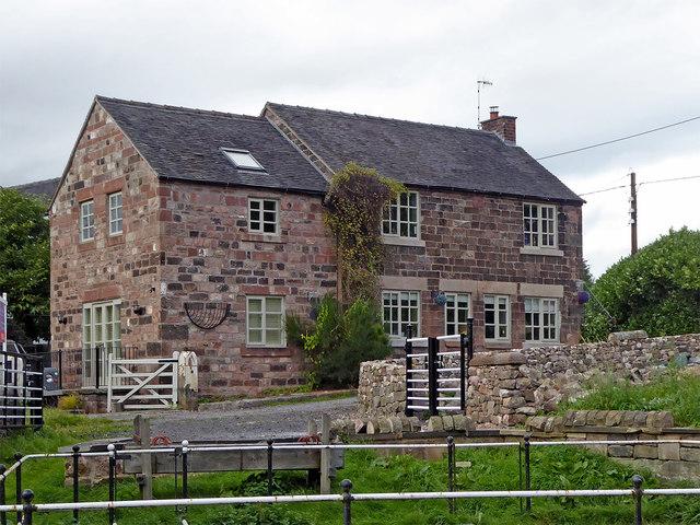 House near Stockton Brook, Stoke-on-Trent
