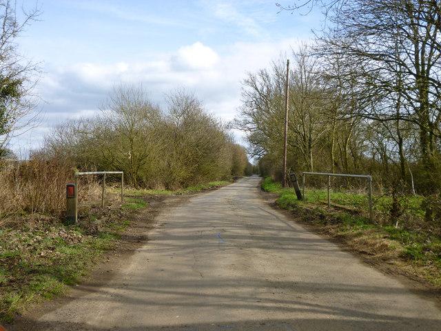 Small bridge on road to Granborough