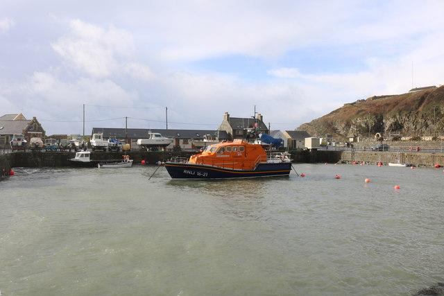 Portpatrick Inner Harbour