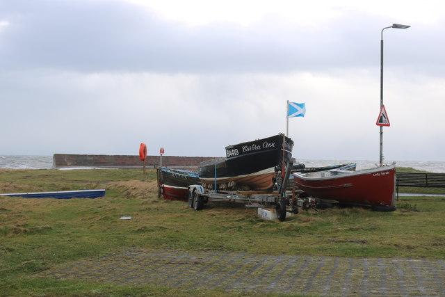 Boats, Ballantrae Harbour