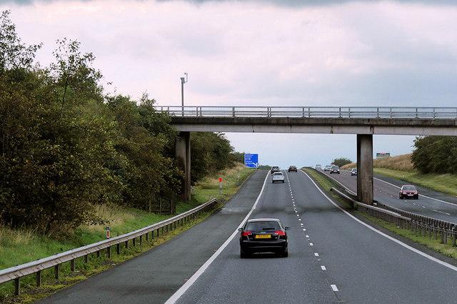 A719 Bridge over the M77 Motorway