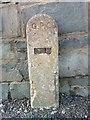 SH5670 : GPO cable marker on Penrhos Road, Bangor by Meirion