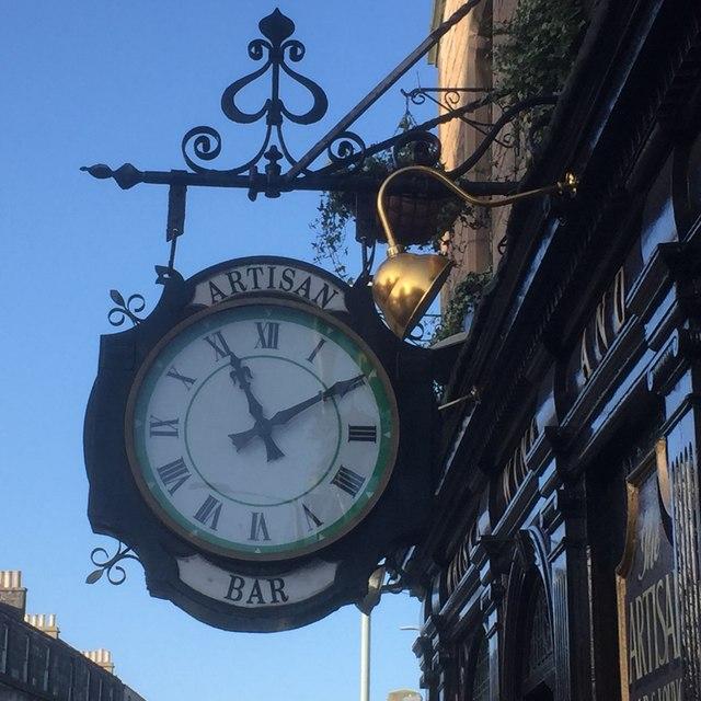 Clock, Artisan Bar