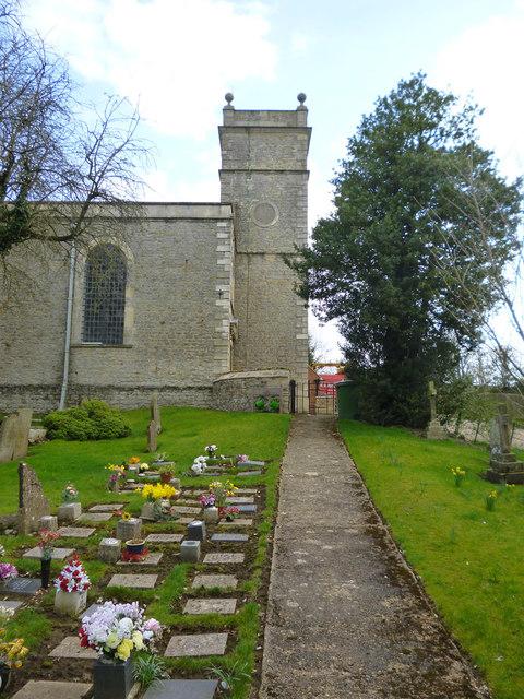 Gawcott church tower