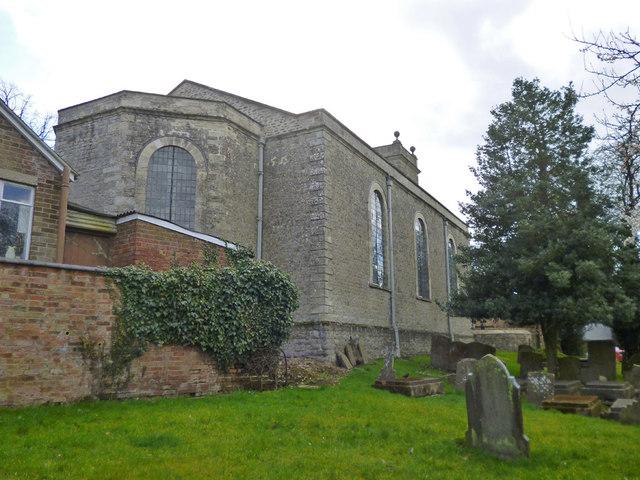 Gawcott church, east end