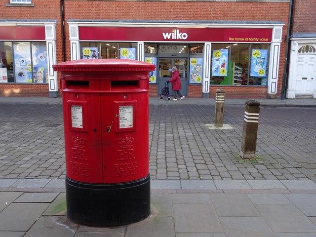 Pillarbox on Bore Street