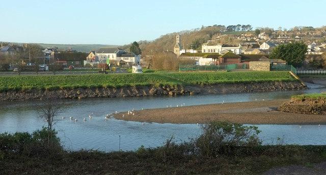 River Camel at Wadebridge