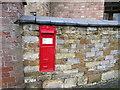 SK7720 : Victorian post box, Thorpe Arnold by Jonathan Thacker