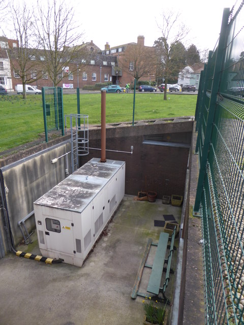 County Hall - emergency generator, Taunton