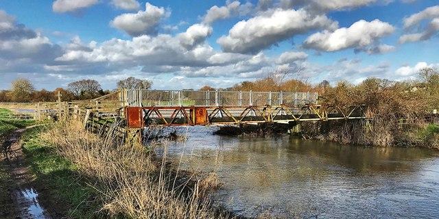 Bineham Bridge - on the River Adur