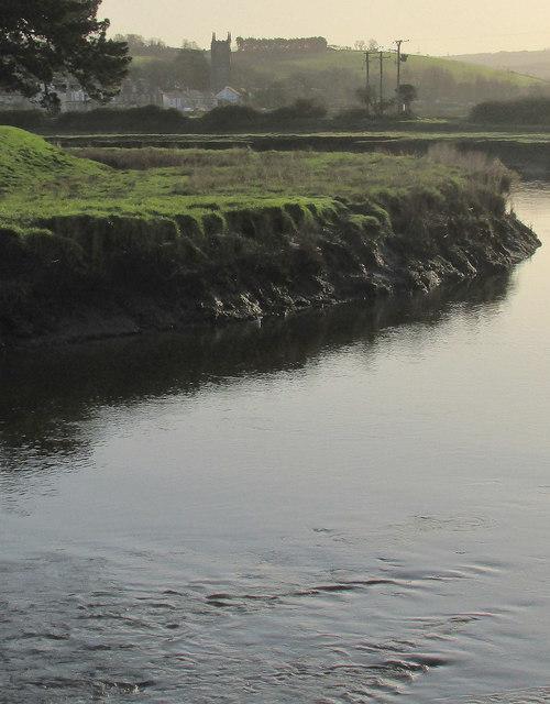 River Camel above Wadebridge