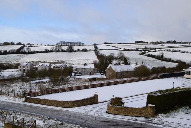 Snow at Garvaghy