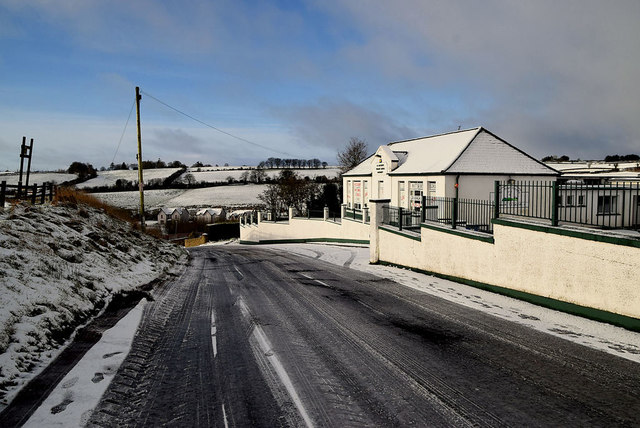 Snow along Rarogan Road
