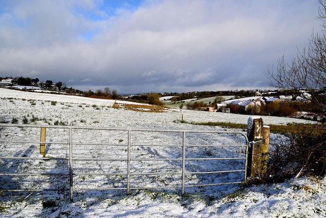 Snow, Garvaghy