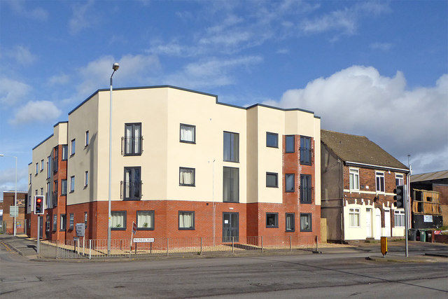 New apartments in Ettingshall, Wolverhampton