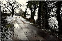 H5559 : Slush along Tycanny Road by Kenneth  Allen