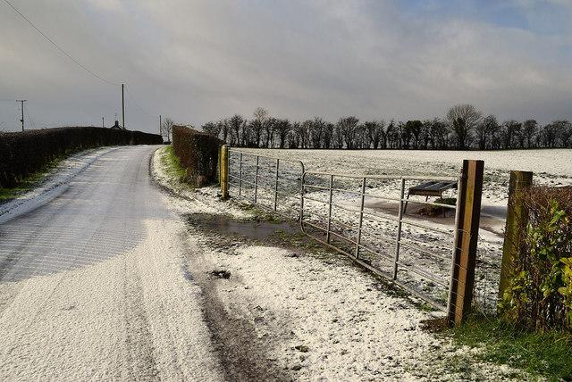 Snow, Meenmore Road