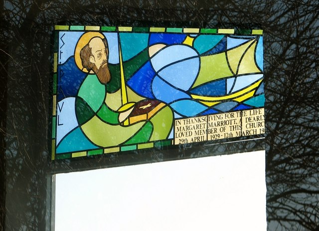 The church of St Paul, Tuckswood - stained glass
