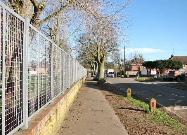 Pavement along Scarlet Road