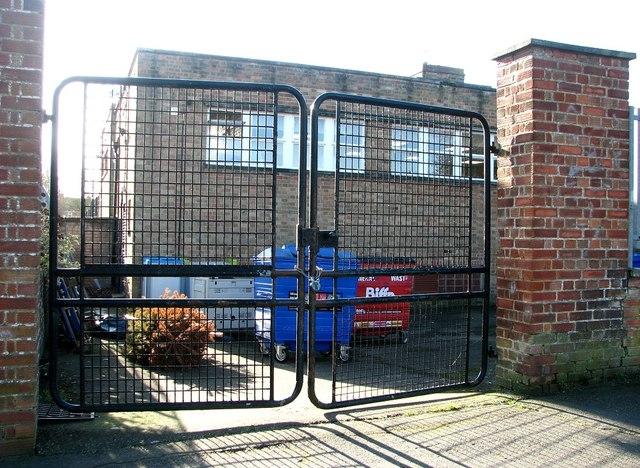 Tuckswood Academy & Nursery - gated entrance