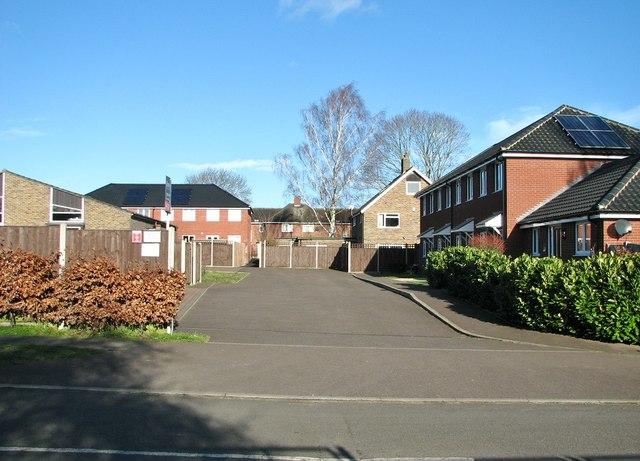 Houses off Greenwood Road