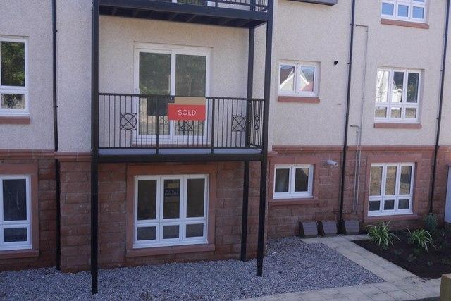New flats, Gullane