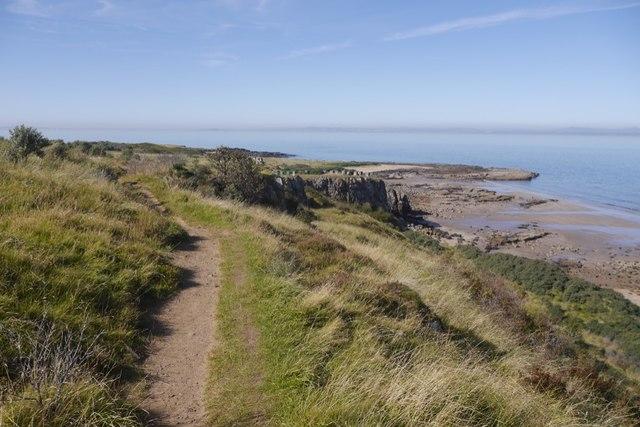 Path west of Gullane