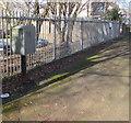 ST3186 : Royal Mail drop box, Mendalgief Road, Newport by Jaggery