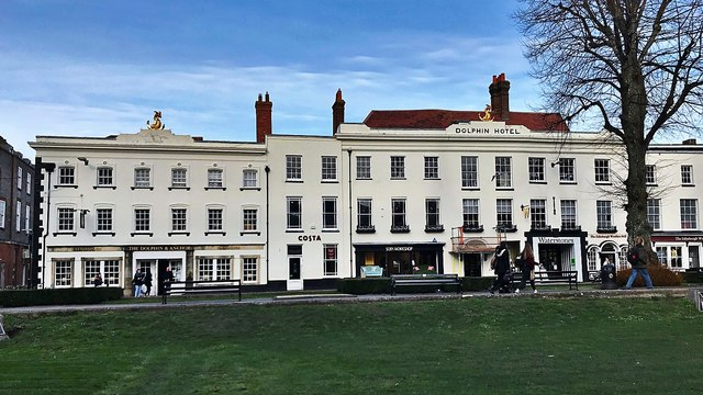 The former 'Dolphin Hotel', Chichester