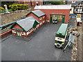 SU9391 : Bus Station in Bekonscot Model Village by David Hillas