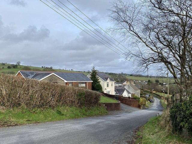 Housing near Felindre