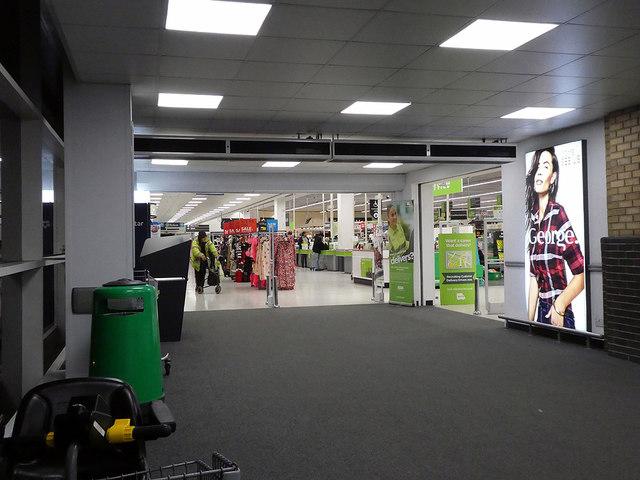 Access to the Southampton Asda Store