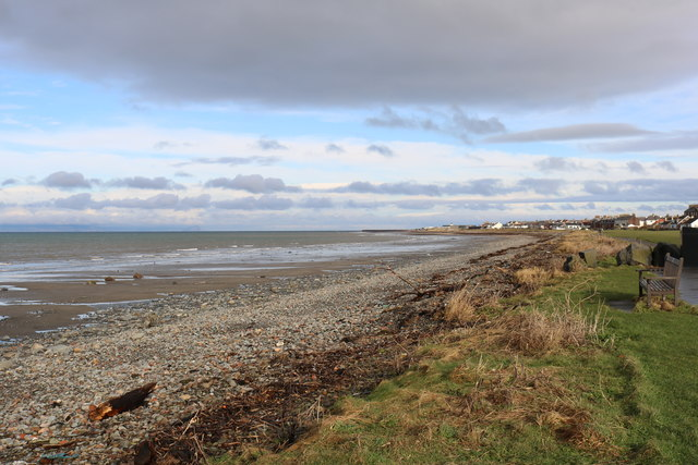 Ainslie Shore, Girvan by Billy McCrorie