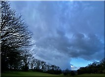 ST0881 : A hole in the clouds by Alan Hughes