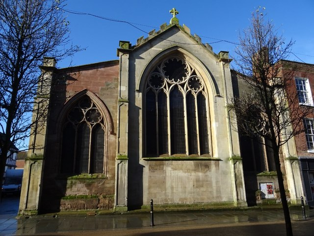 East facade of the former St Helen's