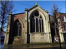 SO8554 : East facade of the former St Helen's by Philip Halling