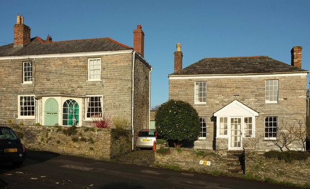 Listed houses, Whiterock Road, Wadebridge