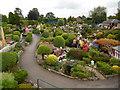 SU9391 : View of Bekonscot Model Village looking East by David Hillas