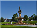 NS6064 : The Doulton Fountain, Glasgow Green by Stephen Craven